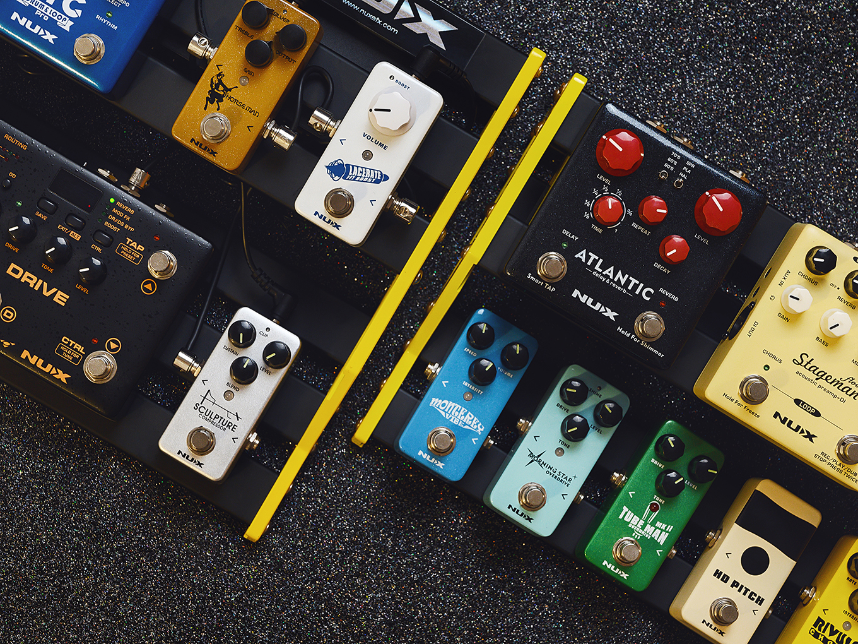 nux pedalboard efekty gitarowe jak podłączyć